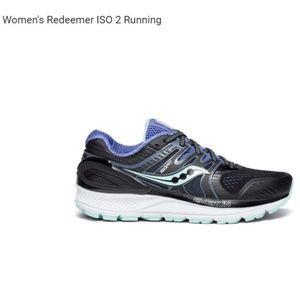 Saucony women's Redeemer ISO 2 running sz 8 EUC